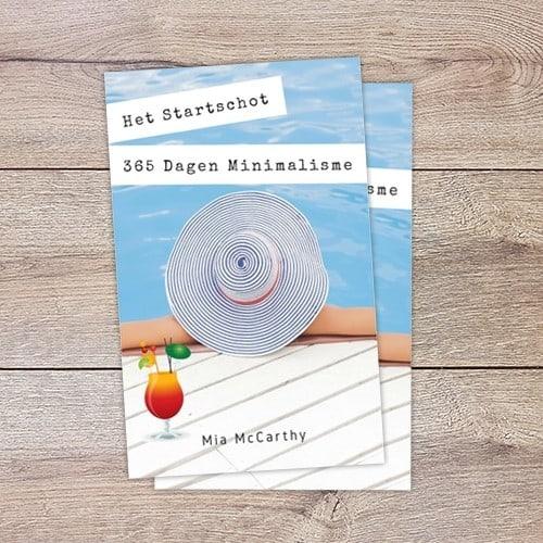 Boekreview: Het Startschot – 365 Dagen Minimalisme