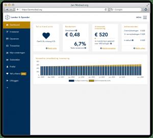 platform van lender en spender