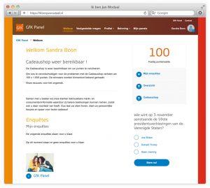 online geld verdienen met het invullen van enquetes