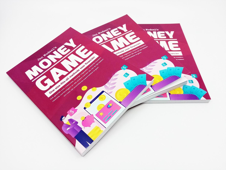 boek over geld money game jan modaal