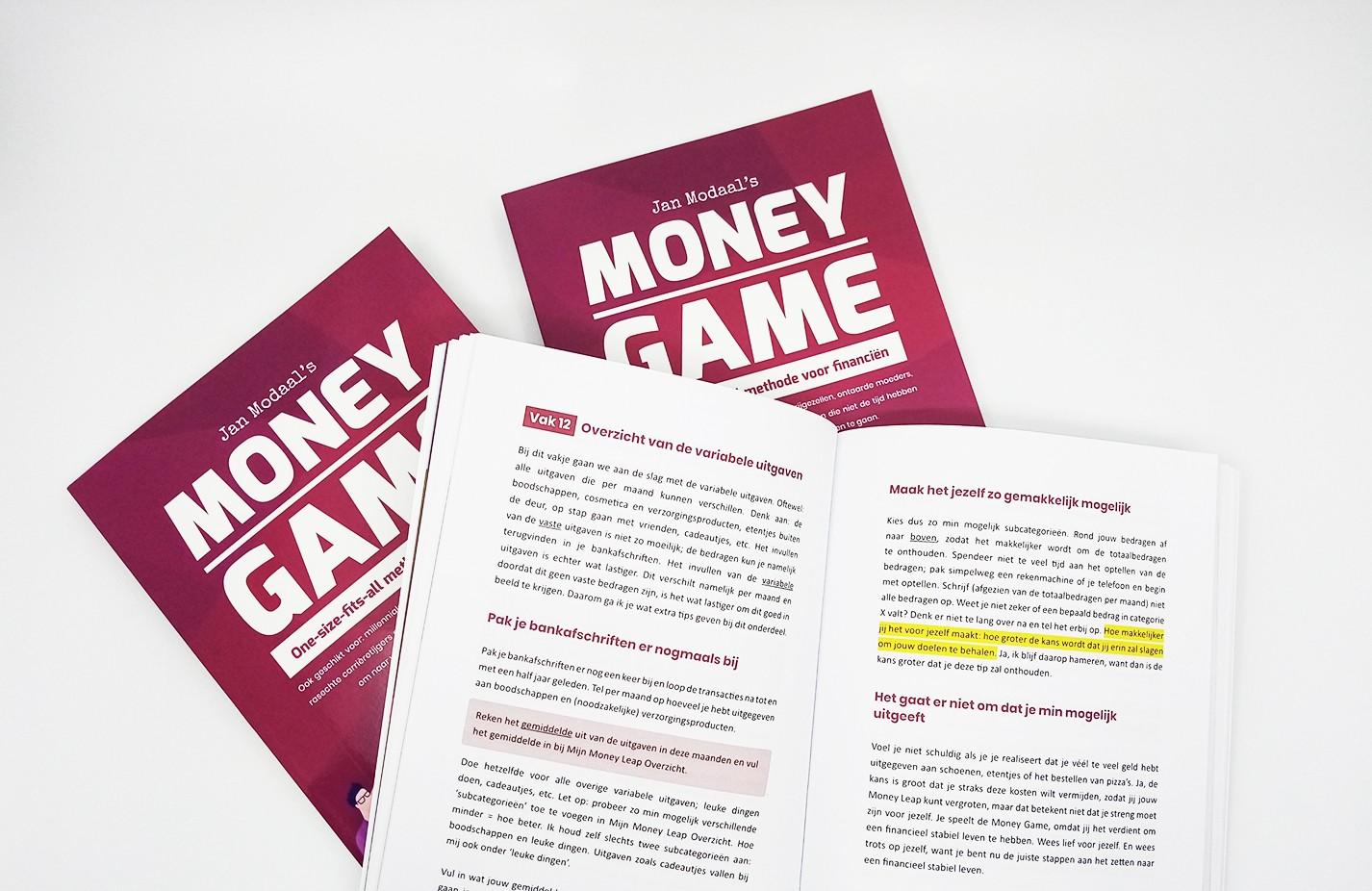 money game boek over geldzaken