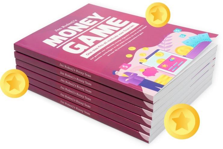 Voorbeeld van het boek Jan Modaals Money Game