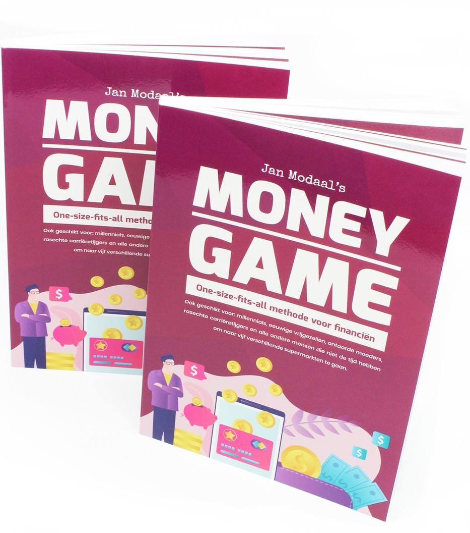 Boek van Jan Modaals Money Game - Spel voor financien