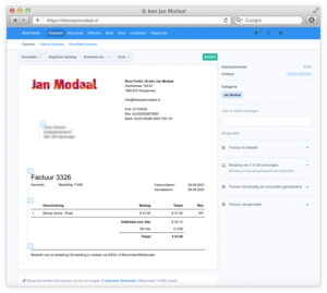 moneybird startende administratie ondernemers tools en platforms